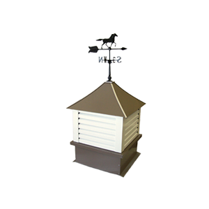24 in cupola for Post Framed Buildings, Steel Buildings, Residential and Agricultural Buildings